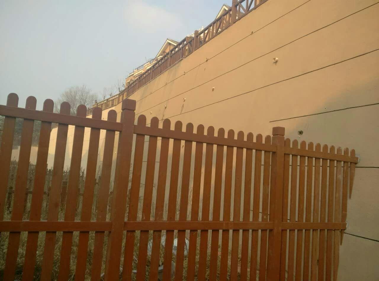大连防腐木护栏