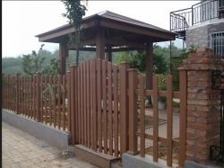 大连塑木护栏