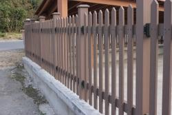 大连塑木围栏